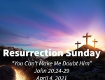 Easter Worship Service - Sunday, April 4, 2021